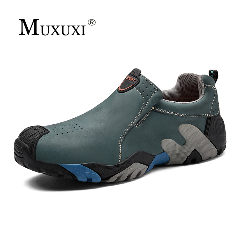 Super Warm Mens Winter Ankle Boots Waterproof Rubber Men Snow lace up shoes Leisure Plush Winter Leather Shoes <br>
