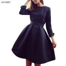 clothes girls teenager ball gown princess style dresses fashion girls big 13 14 15 16 years old black red autumn winter