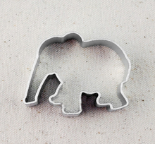 Elephant Shape Metal Baking Cookie Cutter Biscuit Cutter Mold Fondant Sugar Craft Tools Kitchen diy M-F39