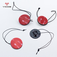 Buy 5pcs Camera Accessories Safety Tether Strap + 3M Sticker Mount adhesive pad Gopro Hero 5 4 3 xiaomi yi 4k SJ4000 Accessories for $4.34 in AliExpress store