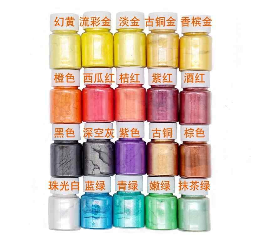 amount of diy slime material filler glitter crystal drop glue