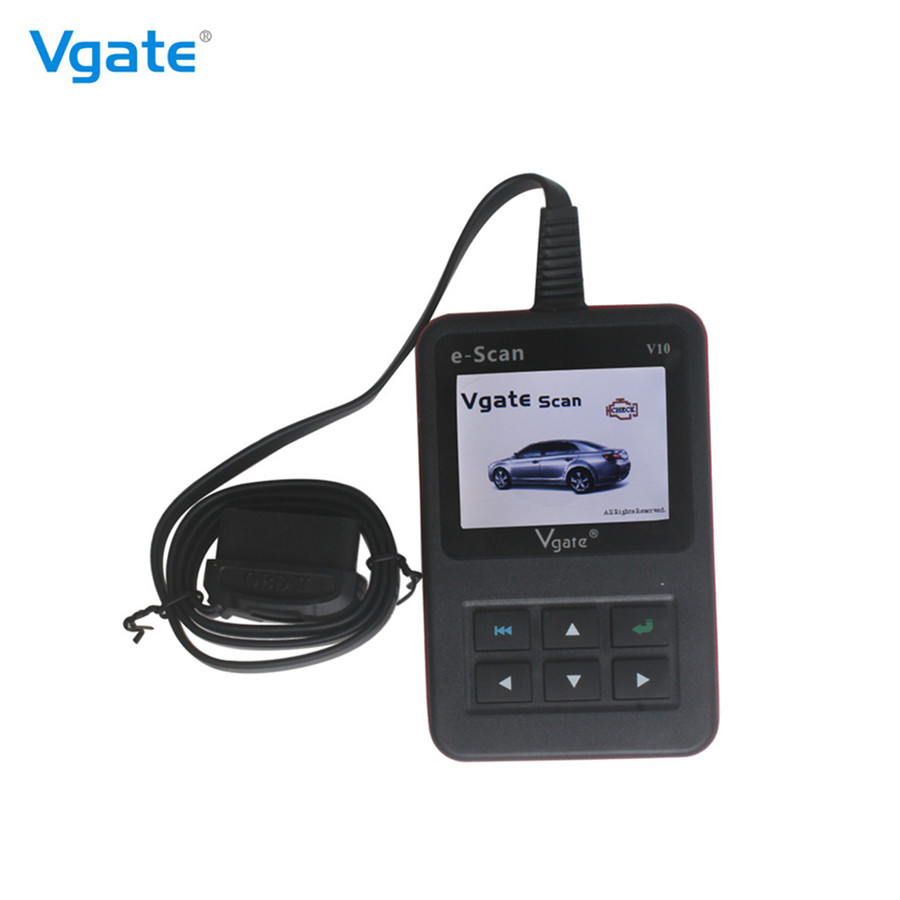 Vgate E-SCAN V10 Petrol Car and Light Truck Scan Tool Escan V10 Scanner Works On All' 96 and Newer Domestic and Import Cars(Hong Kong)