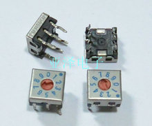 Fuji Japanese FUJISOKU 0-9 / 10 7.5 \u0026 times; 7.5 DIP rotary code switch DRS7110C inverted(China)