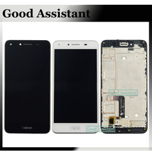For Huawei Y5 II CUN-L01 / Huawei Y5II CUN-L23 CUN-L03 CUN-L33 LCD Screen Display Touch Screen Digitizer Assembly + With Frame(China)