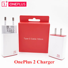 Original ONEPLUS 2 Charger 5V/2A Usb Wall Charge Charger Adapter &Type C Data Cable For One Plus Two Mobile Phone