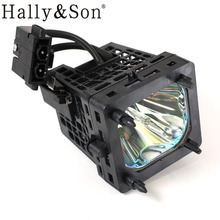 Hally&Son Free shipping TV rear projector lamp with housing XL5200 for Sony KDS 55A2000/KDS 55A2200/KDS 55A3000/KDS 60A3000(China)