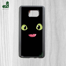 Hot Models toothless how to train your dragon Plastic Soft side Mobile Protection Case for Samsung Note5 Note4 Note3 Note2 Cover