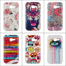 For Samsung Galaxy Trend Plus S7262 S7260 S Duos 2 S7262 S7260  IMD TPU Gel Phone Case Cover Owl New Style Patterns