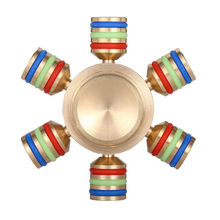 Smare EDC Fidget Spinner Kong Kim Tri-spinner  Hand Spinner Toy Anxiety Stress Adults Kid Metal Spinner  Anti Stress Toys