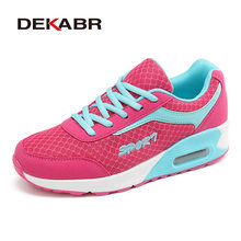 DEKAR Women's Air Cushion Running Shoes Mesh Breathable Light Running Sneakers Outdoor Sports Shoes Women Athletic Shoes