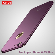 For iphone 6s case Original Msvii Brand Silm scrub cover For iphone 6 6s plus case coque hard PC Back cover For iPhone6 cases
