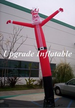 custom 15ft christmas holiday decoration inflatable santa claus sky dancer for advertising
