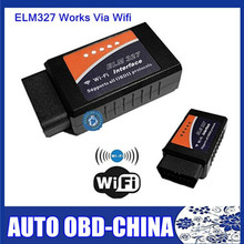 2016 New Version WIFI ELM327 ELM 327 OBDII / OBD2 V1.5 Auto Diagnostic Scanner Tool Code Reader