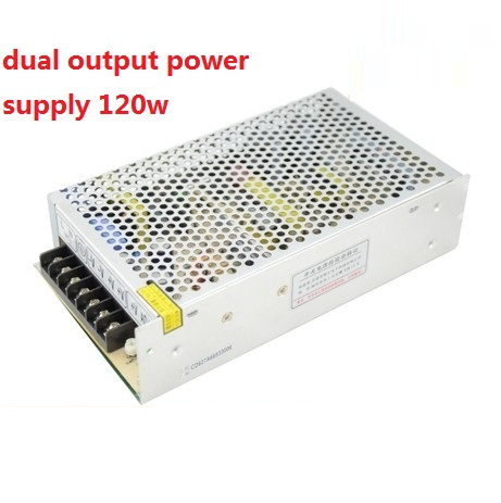 D-120B 120W 5v10A 24v3A dual Output Switching power supply  ac to dc power supply<br>