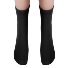 Men Boyr's Soccer basketball badminton Socks Knee-High Solid color Men Socks Warm Winter Cycling socks Cotton Blend Sports Scok(China)