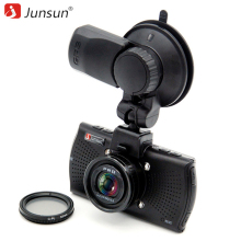 Junsun A7810 Ambarella A7LA70 Car DVR Camera GPS with Speedcam 1296P Full HD 1080p 60Fps Video Recorder Registrar Dash Cam(China)