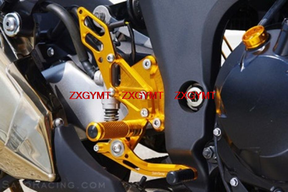 Footrest Foot Rest Pegs Rearset Rear Set for KAWASAKI Z1000 Z 1000 NO ABS 2010 - 2015 2014 2013 2012 2011<br><br>Aliexpress