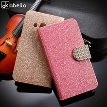 "Diamond Leather Phone Case For alcatel OneTouch Pixi 4 4"" One Touch Shine Lite Go Play 7048 5080 Cover Stand Flip Wallet Holster"