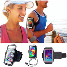 LINGWUZHE For Apple ipod Touch 4 4G 5 5G Workout Sport Pouch Arm Band Belt Mobile Phone Accessories Gym Wrist Strap #1