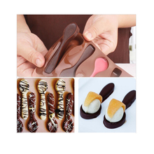 Spoon Styling Cake Decorating Silicone Bakeware Fondant Chocolate Mold DIY Pastry Cooking Tools(China)