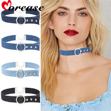 Buy Denim Sexy Necklace Collar Punk Style Sex Toys Bondage Erotic Bdsm brinquedo Sexo Fetish Toy Adult Games juguetes Morease