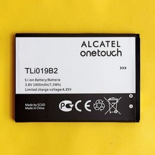 Original Battery TLi019B2 For Alcatel One Touch Pop C7 OT-7041 7040D 7041D Dual CAB1900003C2 TCL Mobile Phone Li-ion Batterie