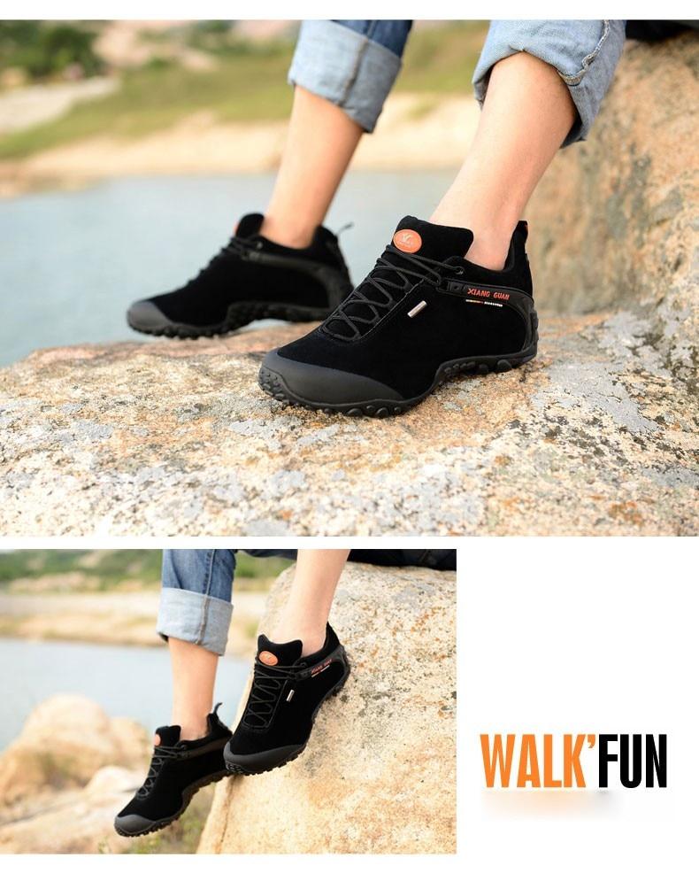 XIANG GUAN Winter Shoe Mens Sport Running Shoes Warm Outdoor Women Sneakers High Quality Zapatillas Waterproof Shoe81285 12