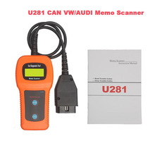 U281 for VW AUDI SEAT ABS Airbag Engine Reset Code Reader CAN BUS OBD2 Scanner Tool high quality(China)