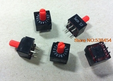 Rotary Code Switch 16 Bit 0-F Rotary Code Switch 1 2 3 8 C Positive Code