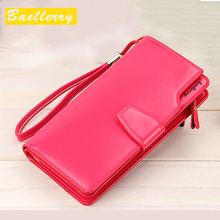 High Quality women's purse fashion wallet women big capacity leather wallet female long clutch women purse New Arrival HOT !