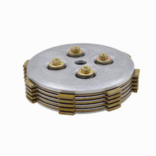 2088 Motorcycle Center Clutch Assembly With Friction Pressure Plate For Yamaha JY110 JY 110 F8 Spare Parts(China)