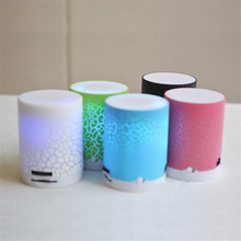 2017 Newest Version Similar A9 Mini LED Lights Speaker Portable TF card MP3 Music Player Multi-function Led Colorful Speaker