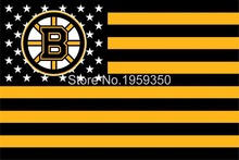 Boston Bruins Flag 3FT x5 FT 150X90CM Banner 100D Polyester NHL flag