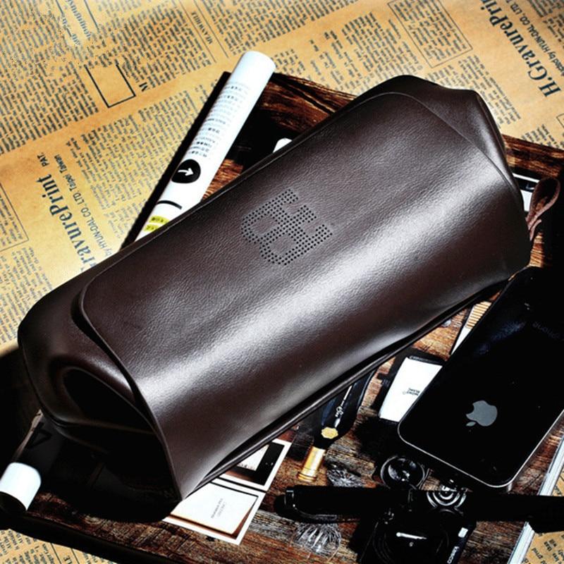 2017 Unique Design Men Clutch Bags High quality Cowhide handbags Long wallets Purses Business Casual men Clutch Bag<br>