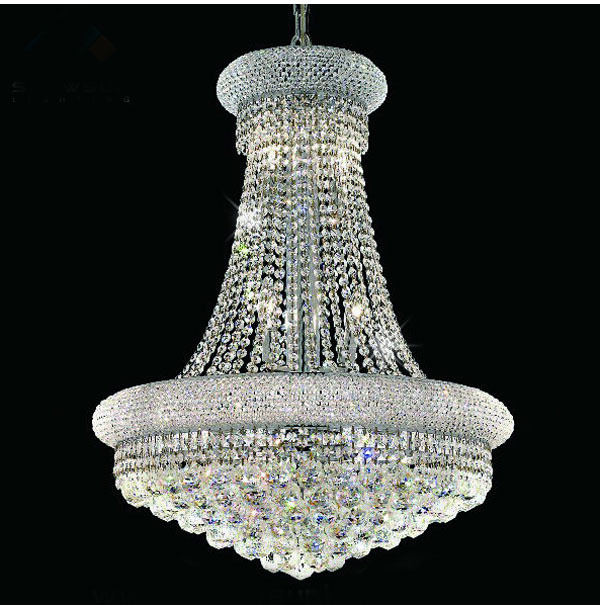 Aliexpress Com Buy Phube Lighting French Empire Gold Crystal Chandelier Chrome Chandeliers