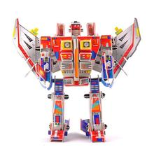 D497 Free shipping children's educational toys 3 d puzzle Starscream Christmas birthday gift