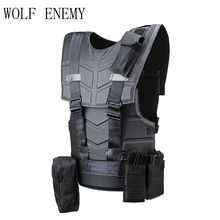 Tactical Vest Multi-functional Body Armor Outdoor Airsoft Paintball Training Hunter CS Wargames Protected Vest(China)