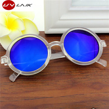 UVLAIK Eyewear Sunglasses Fashion Brand Designer Round Sun Glasses Men's Women's  UV400 Protection Goggles