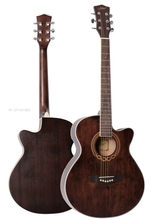 40inch vintage acoustic electric guitar(China)