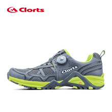 Clorts Light Men Trail Running Shoes BOA Fast Lacing Sports Shoes Breathable Athletic Shoes Summer Runner Shoes 3F013B/D(China)