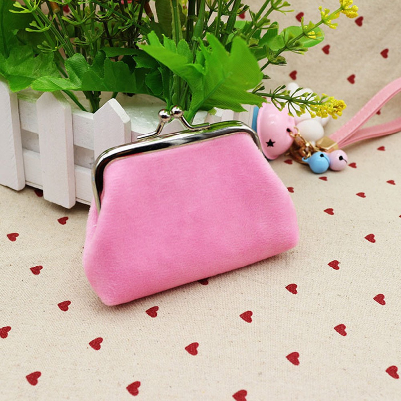 New Fashion Womens Coin Purse Top Brand Small Wallet Girls Change Pocket Pouch Hasp Keys Bag Metal Bar Opening New Gift<br><br>Aliexpress