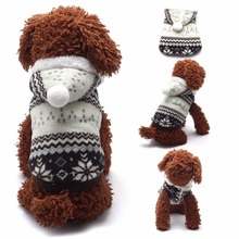 Cute Soft Winter Warm Short Plush Pet Puppy Dog Clothes Puppy Costume Hoodies Coat Sweater with Hat