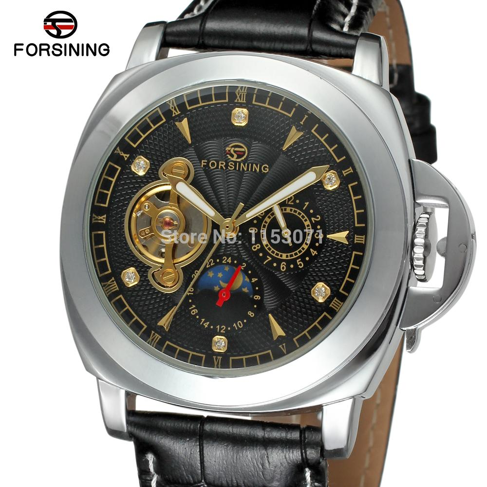 FSG005M3S7 New arrival  Automatic mens watch with black color dial fashion casual analog round watch gift box free shipping<br>
