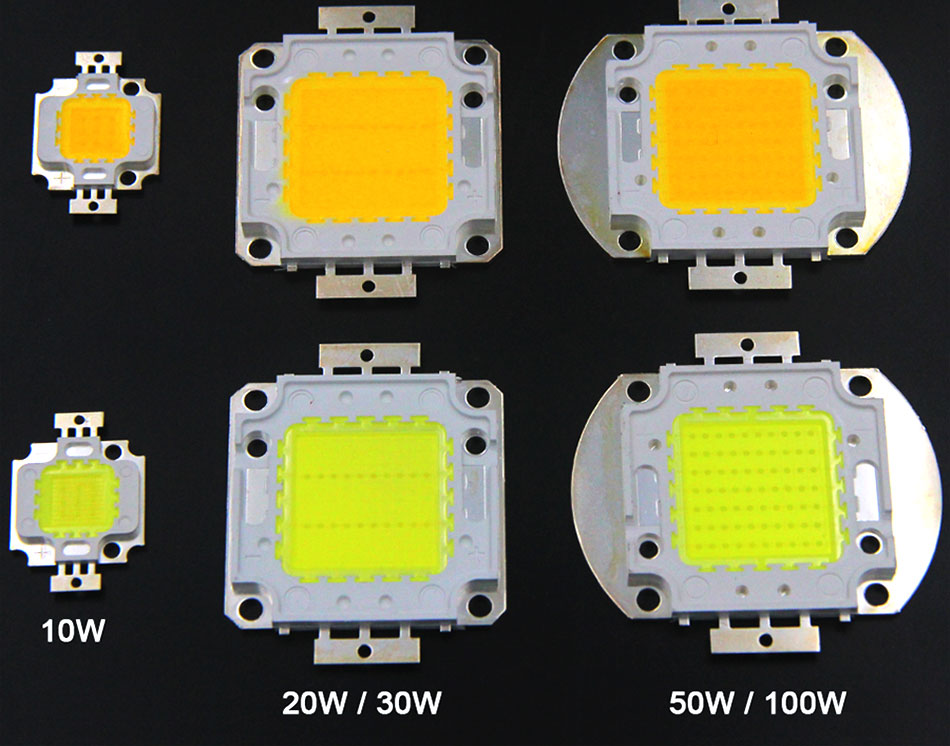 100% Epistar LEDs Full Watt 10W 20W 30W 50W 100W COB LED Light Chip for Project Flood Light Floodlights AC LED Bulb with Driver (17)