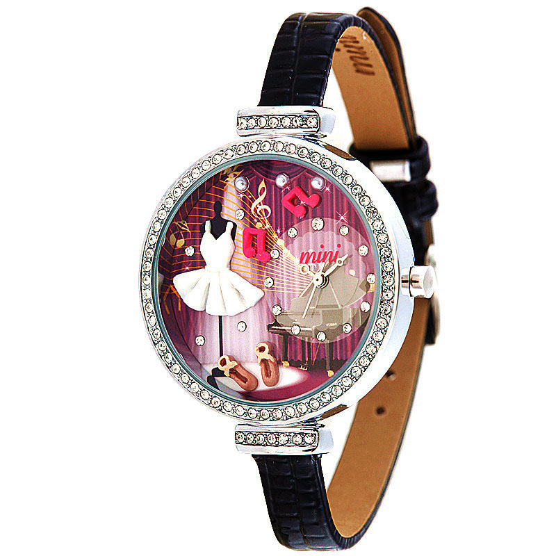 Newest Handmade POLYMER CLAY M:N: Korea Mini ladies Watch Women Dress quartz watches Relogio hot selling princess<br><br>Aliexpress