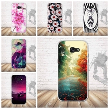 Cellphone TPU Case For Samsung Galaxy A5 2017 A520F Ultra Thin Fashion Cover Soft Silicone Bag For Samsung A5 2017 A520F Case