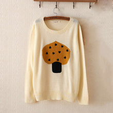 O-Neck Cotton Sweater Women Winter Pullover Long Sleeves Flat Knitted Sweater Top for Women Autumn Female All Code Sweater