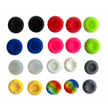 Bevigac 20 Silicone Controller Thumb Stick Grips Cap Cover for PS Sony Play Station 4 3 2 PS4 PS3 PS2 Dualshock Game Accessories(China)
