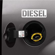 DIESEL Decals Vinyl Sticker Truck SUV Gas Cap Decoration