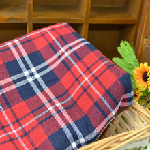 retail or wholesale Yarn dyed fabric classic scottish school uniform plaid clothes fabric 100CM by 145cm(China)
